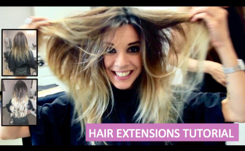 Hair Extensions Tutorial Manou